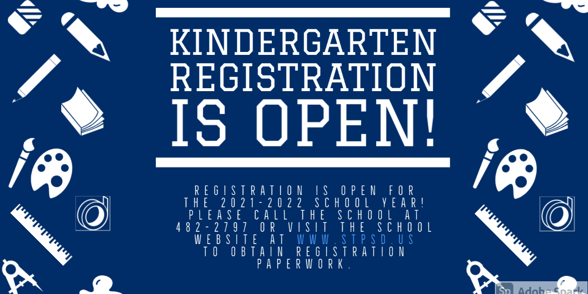 Kindergarten Registration is Open for 2021-2022 school year!